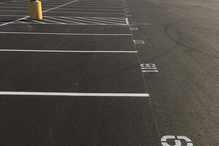 Houston Parking Lot Striping - Goldstone Exterior Services